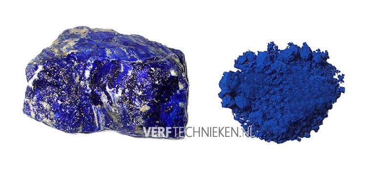 Lapis Lazuli en ultramarijn pigment