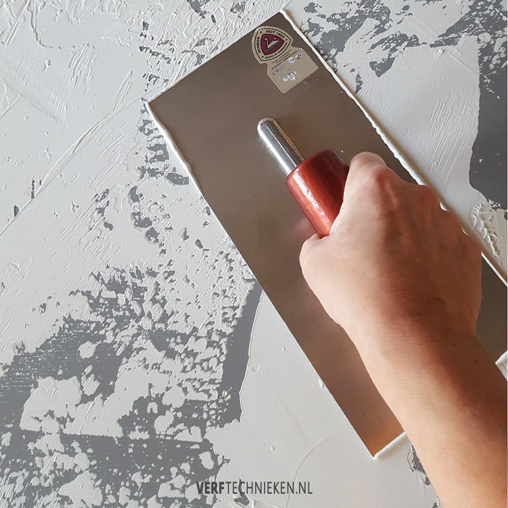 Wandbord basislaag modeling paste