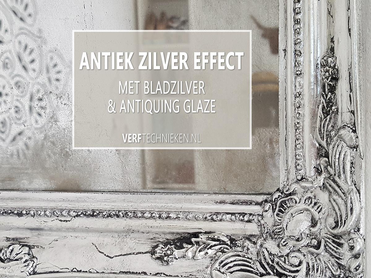 Antiek Zilver effect maken