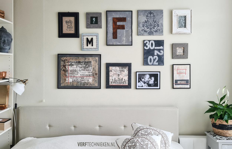 Maak je eigen Gallery Wall