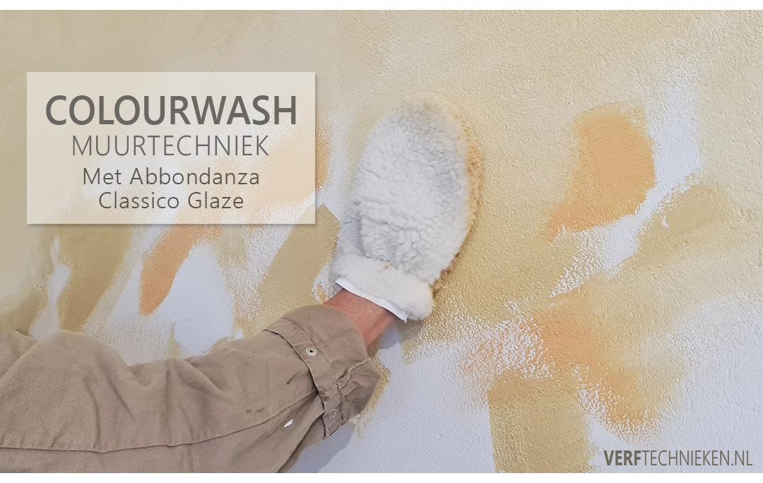 Werkbeschrijving en uitleg colourwash