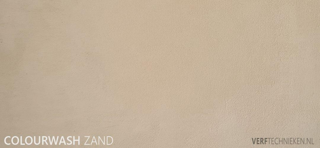 Colourwash in zand tinten