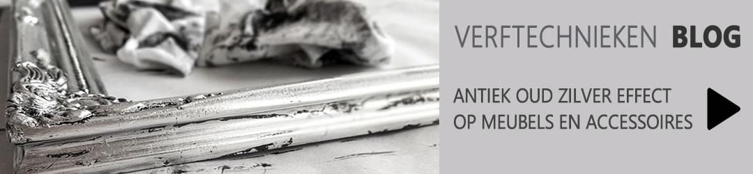 Breng een antiek oud zilver effect aan op meubels en accessoires
