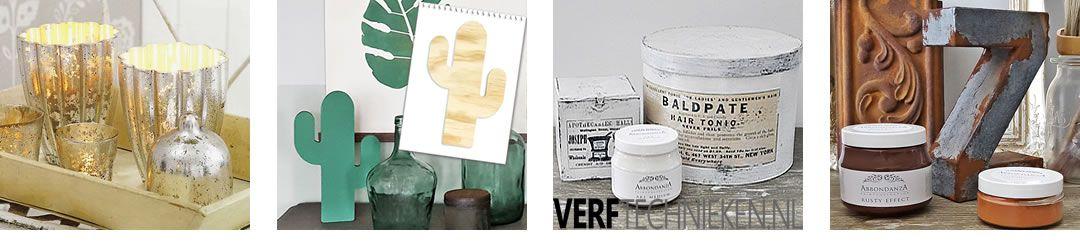 Deco-artikelen, sjablonen, DIY-pakketten