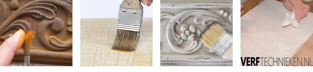 Producten voor decoratieve verf effecten