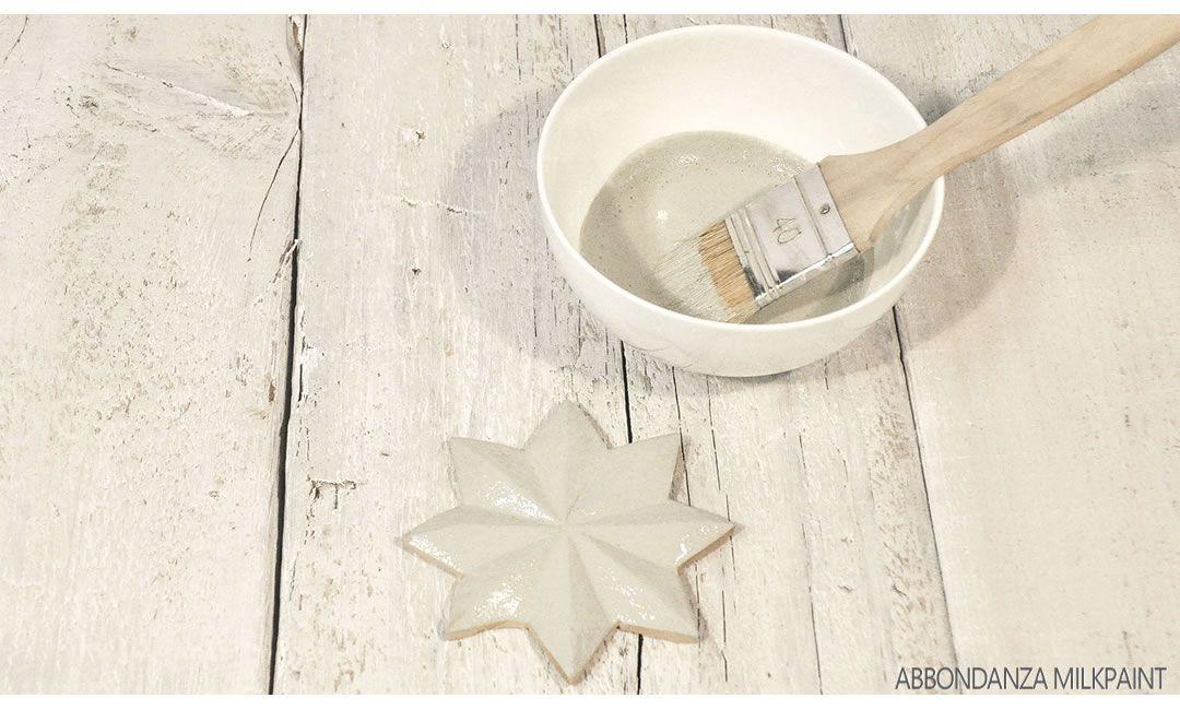 Milk Paint aanbrengen op onbehandeld hout