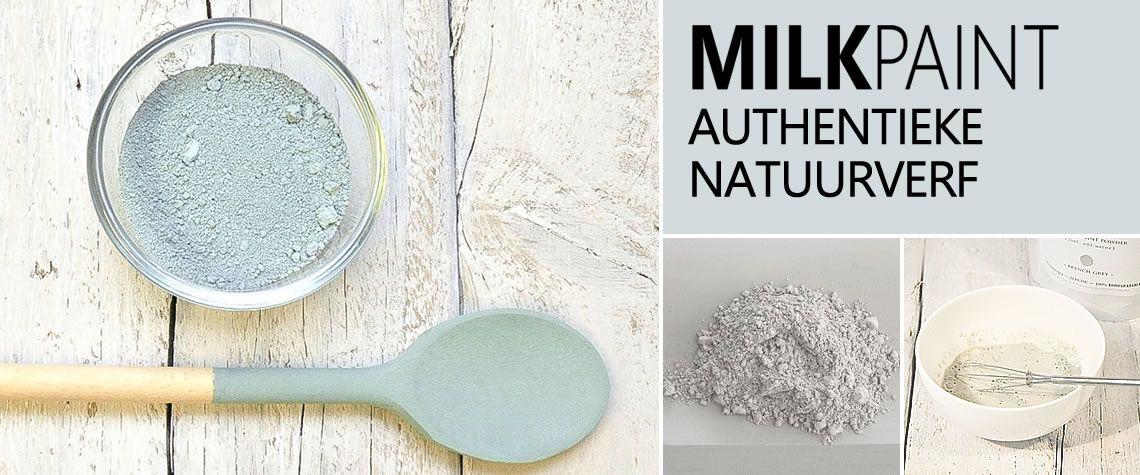 Milk Paint natuurverf milieuvriendelijk