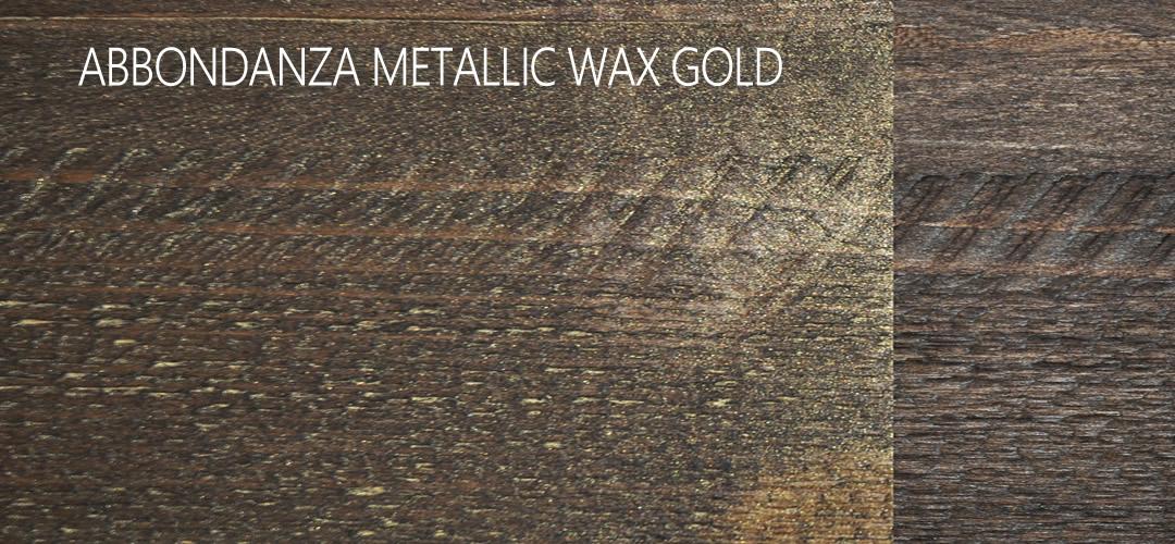 Abbondanza Metallic Wax Gold